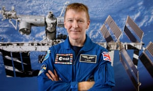 Ready to launch this webchat ... Tim Peake