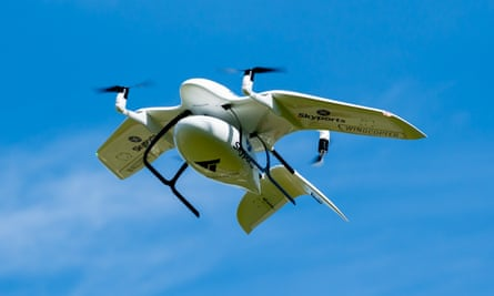 Skyports drones have been trialled by NHS Highland.
