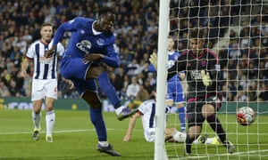 Romelu Lukaku bundles in the dramatic goal that gave Everton a 3-2 win at The Hawthorns.