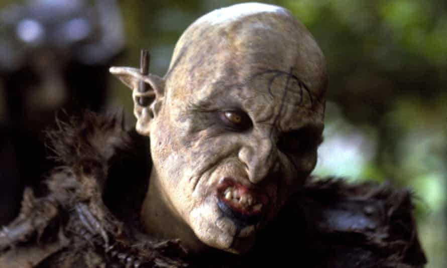 An orc in The Lord of the Rings: The Fellowship of the Ring