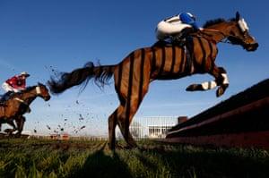 Jamie Moore riding Alfie Spinner.