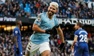 Sergio Agüero hits hat-trick in Chelsea s humiliation by Manchester City 8b136c6fdc5