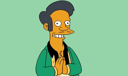 Apu from The Simpsons.