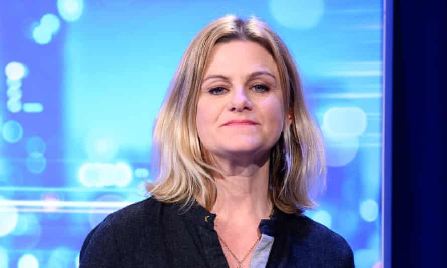 Zelda Perkins appearing on ITV's Peston in February 2020.