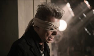 David Bowie, in the video for forthcoming single Blackstar.