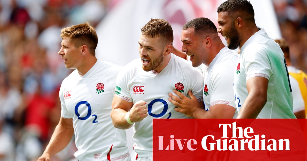England 33-19 Wales: Rugby World Cup warm-up match – as it happened