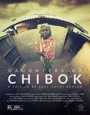 The poster for Joel Kashi Benson documentary Daughters of Chibok