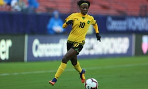Jody Brown is only 17 but has already started scoring regualrly for the senior Reggae Girlz side.
