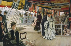 The Ball on Shipboard by James Tissot c1874.
