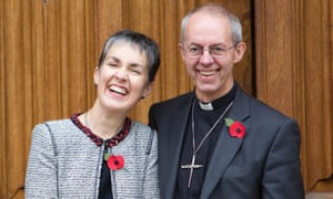 Welby with his wife, Caroline, in 2012.