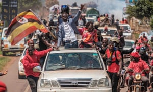 Bobi Wine sets off on the campaign trail