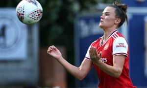Arsenal's Katrine Veje.