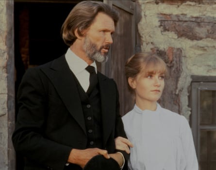 Kris Kristofferson and Isabelle Huppert