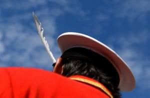 A feather in the cap of the Queen's Swan Marker