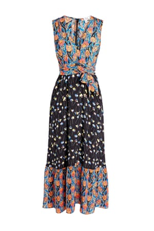 Prints charming Caroline Issa is the super-stylish chief executive and fashion director of Tank Magazine, and her Label/Mix collaboration is inspired by her love of colourful print and vintage silhouettes. A standout is this silk maxi dress (above), with a 70s boho vibe. £180, next.co.uk