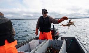 Indigenous lobster fisherman Jason Lamrock