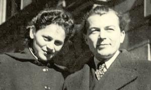 Edita Grosman and her husband Ladislav