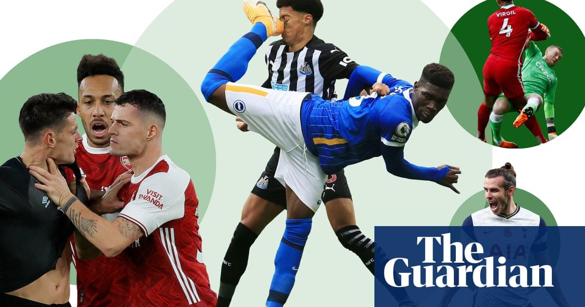 Premier League 2020-21 season review: the best photos from a tumultuous season