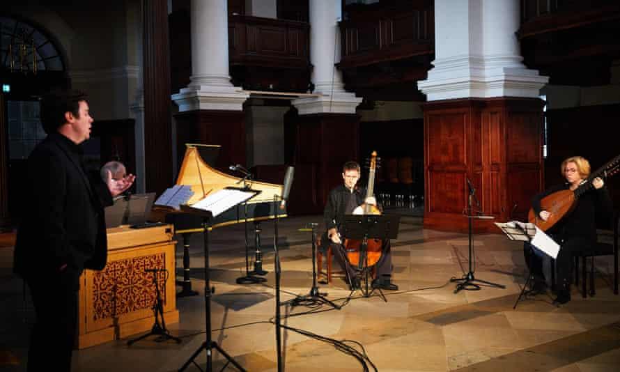 Brilliant musical parallel ... Dunedin Consort's performance in Christ Church.