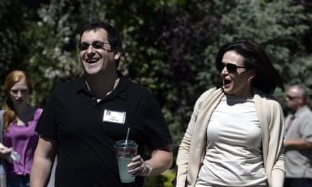 Sheryl Sandberg and husband David Goldberg in 2013