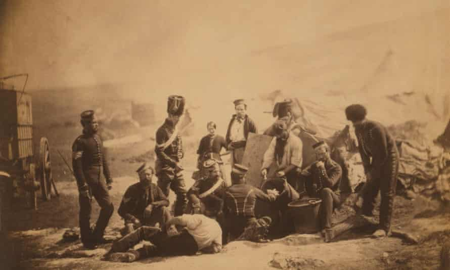 'Probably a masterpiece' … Cooking House of the 8th Hussars, 1855, by Roger Fenton.