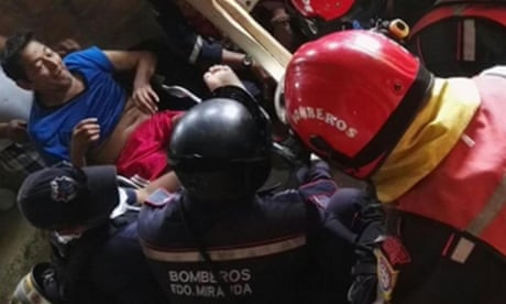 Man, 72, pulled alive from rubble 13 days after Ecuadorian earthquake