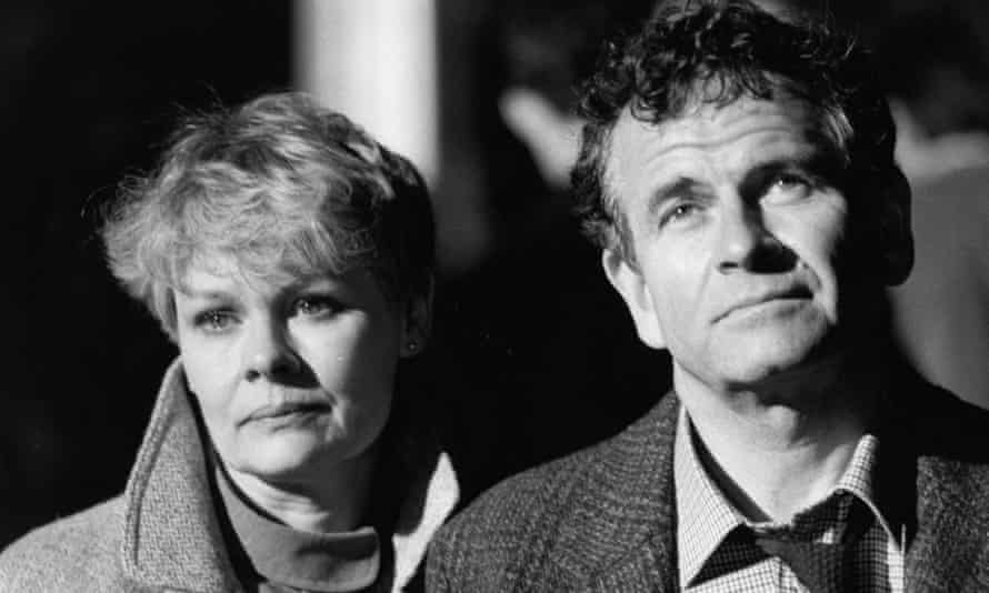 Ian Holm with Judi Dench in the 1985 film Wetherby.