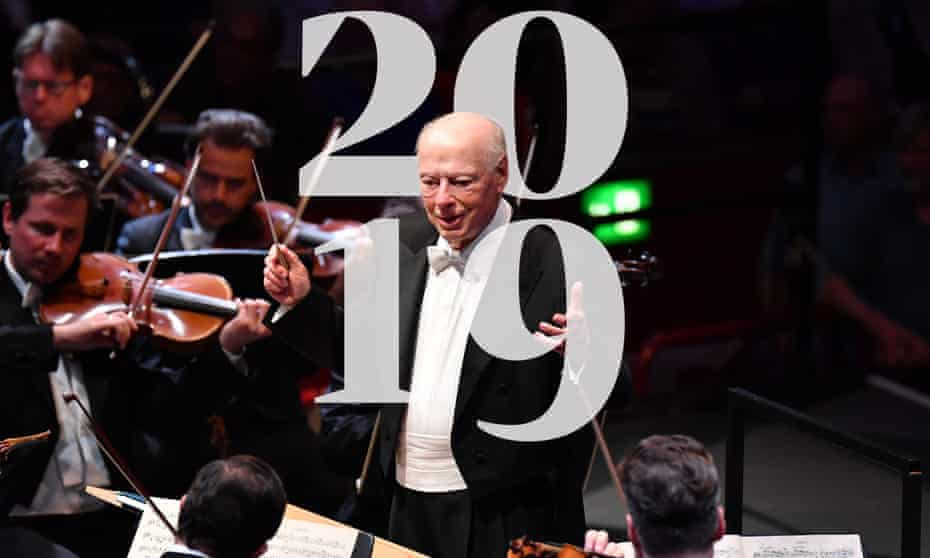 Bernard Haitink conducts Bruckner's 7th Symphony at Prom 60.