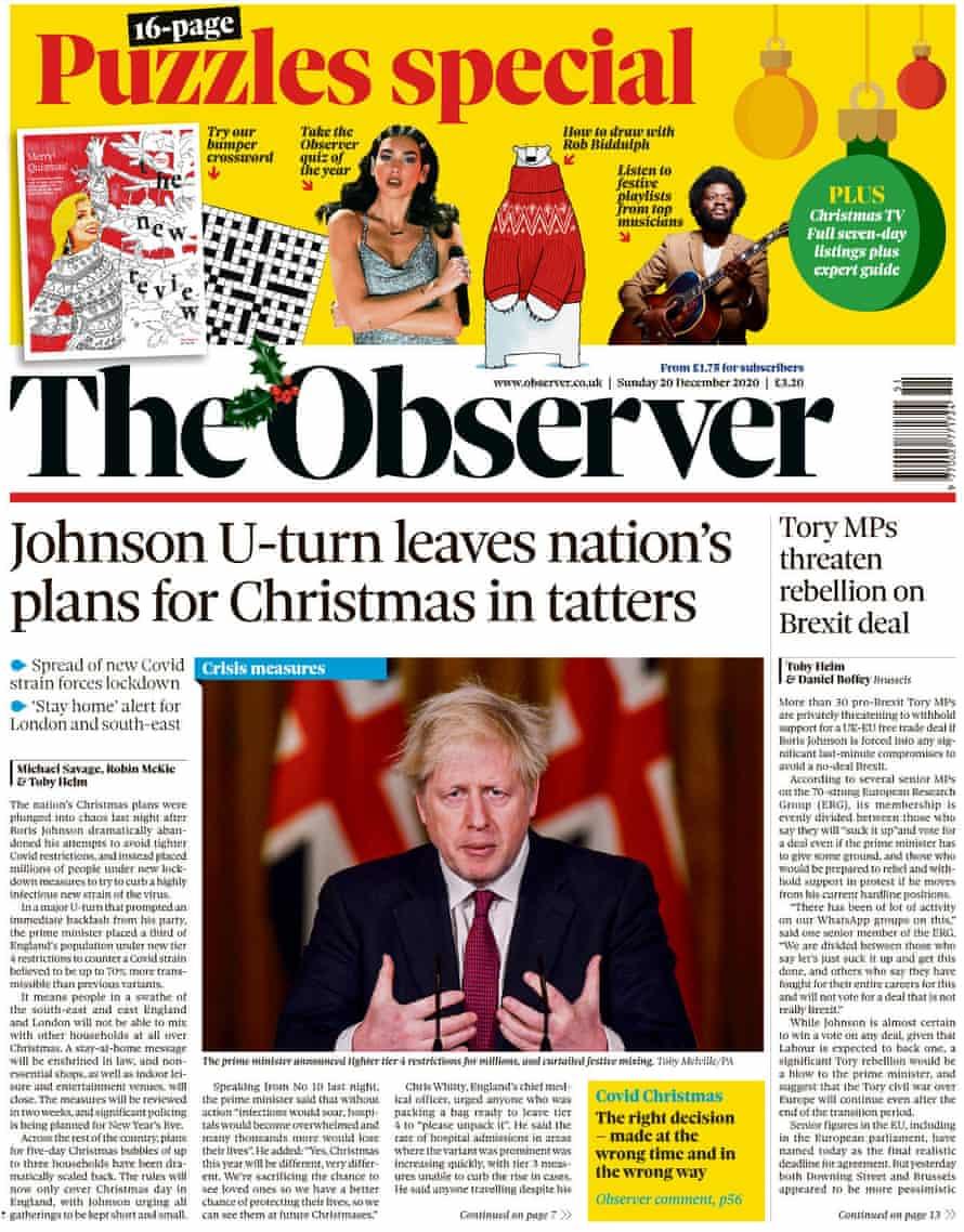 Observer, 20 December 2020