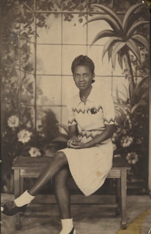 Unknown American maker. Studio portrait, 1940s–50s.