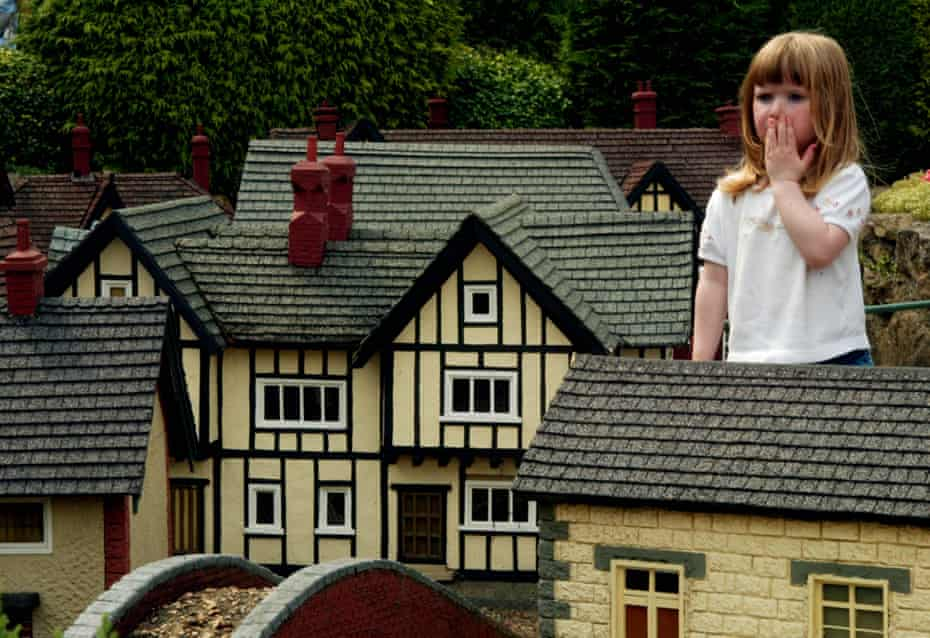 UK houses may not be quite as small as those in this model village, but they are getting more 'bijou' all the time.