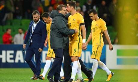 Socceroos must face Syria in World Cup play-off as Saudi Arabia take finals spot