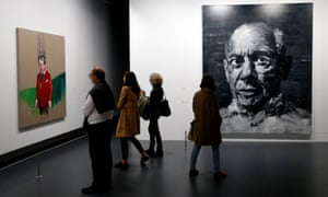 Picasso.Mania exhibition at Grand Palais in Paris