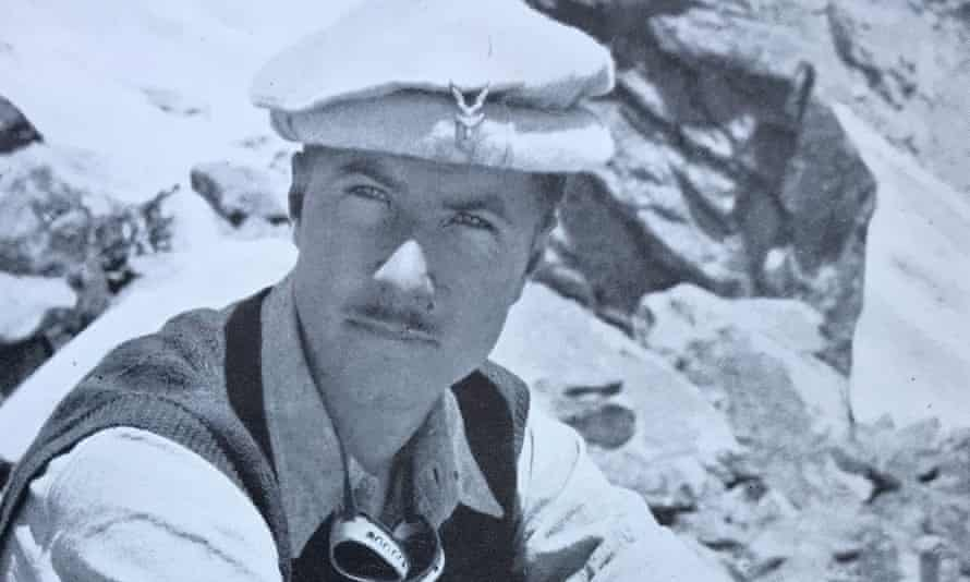 Tony Streather on Tirich Mir, the highest mountain in the Hindu Kush, in 1950