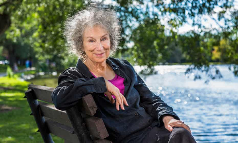 Margaret Atwood is speaking at the British Library as part of Under Her Eye, a women and climate festival.