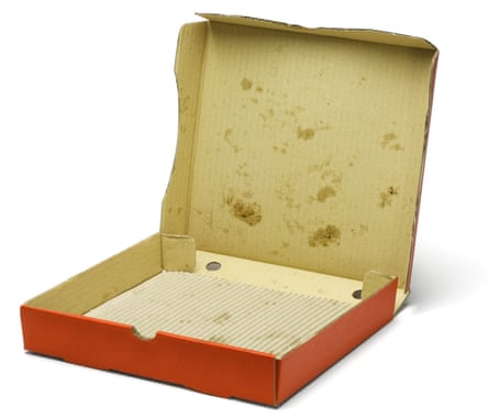 Other products such as grease-stained pizza boxes pose a similar recycling challenge to coffee cups.