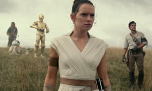 Passing of the baton … in Star Wars: The Rise of Skywalker