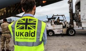 UK aid arrives in Kathmandu, Nepal