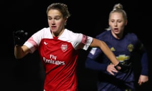 Vivianne Miedema has 14 WSL goals already this season, making her the top scorer in a single WSL campaign