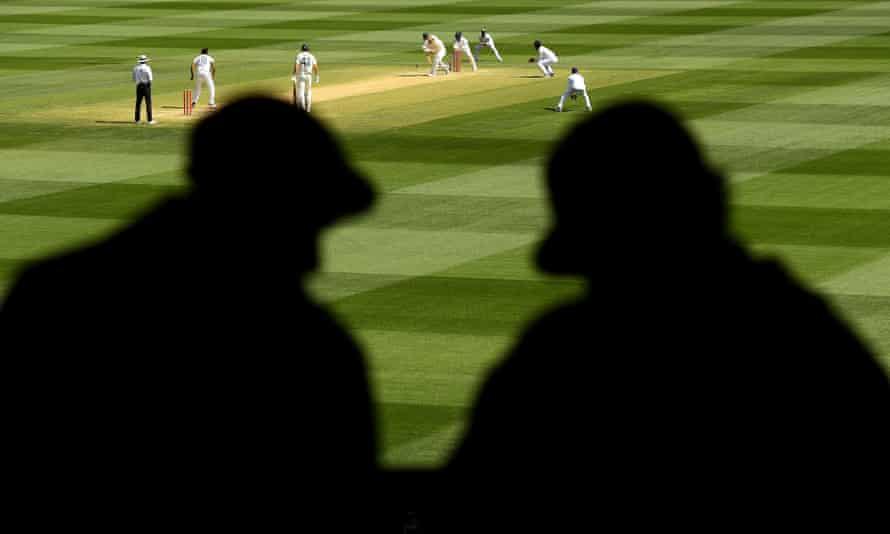 Ravichandran Ashwin of India bowls