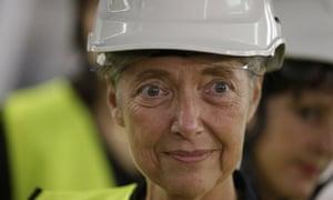 Elisabeth Borne, the French transport minister
