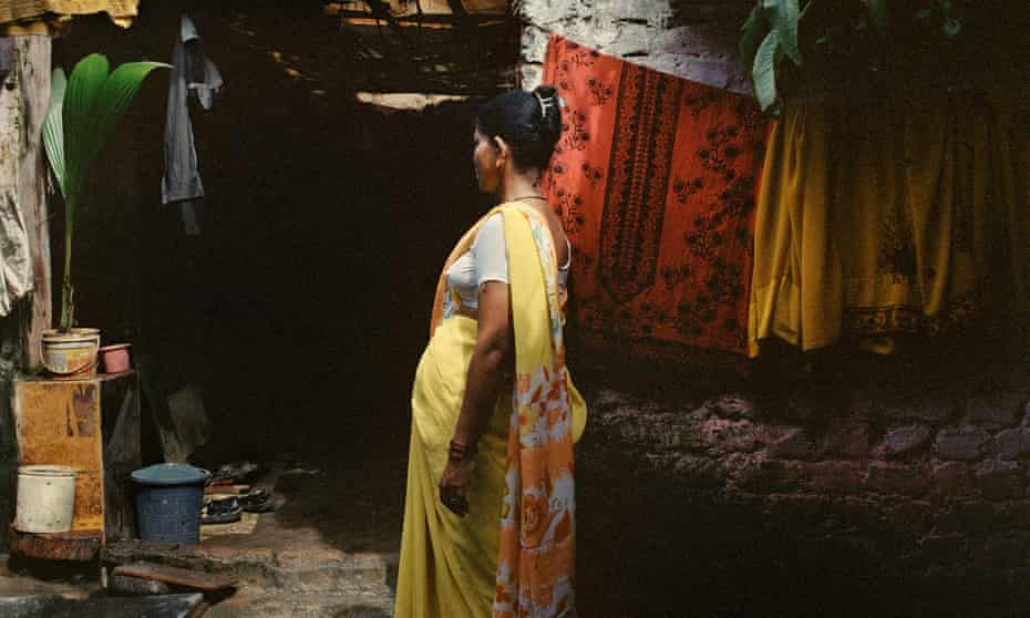 Kalpita from Mumbai carraying her second surrogate baby.