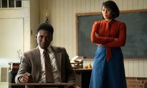 Detective Wayne Hays and Amelia Reardon