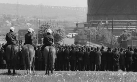 South Yorkshire police in Orgreave on 30 May 1984: 'In the 1980s, the police were politicised, transformed into blunt instruments as part of a wider concerted mission to neutralise the British labour movement.'