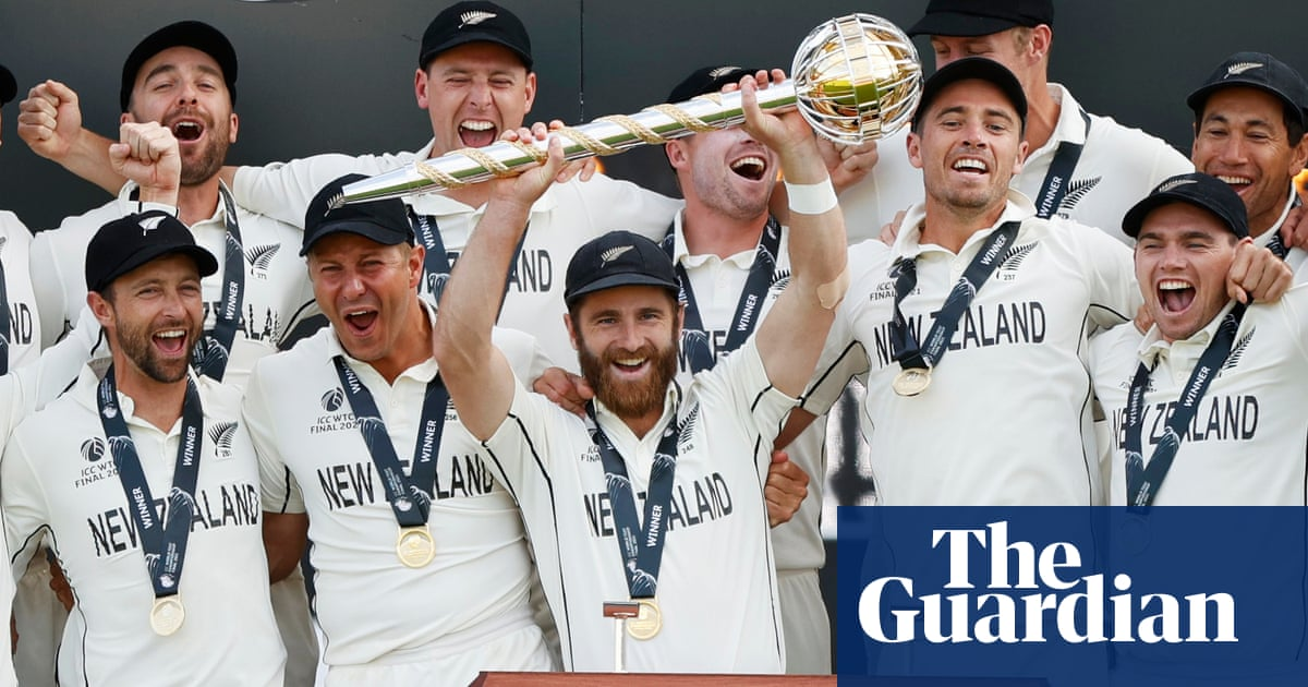 New Zealand win World Test Championship after last-day drama against India