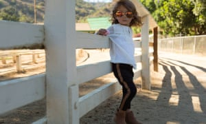 Cool for kids: one little girls looks the bee's knees.