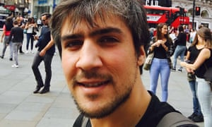 Thaer in Piccadilly Circus, The Refugee Diaries