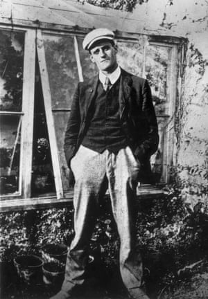 The artist as a young man … Joyce aged 22.