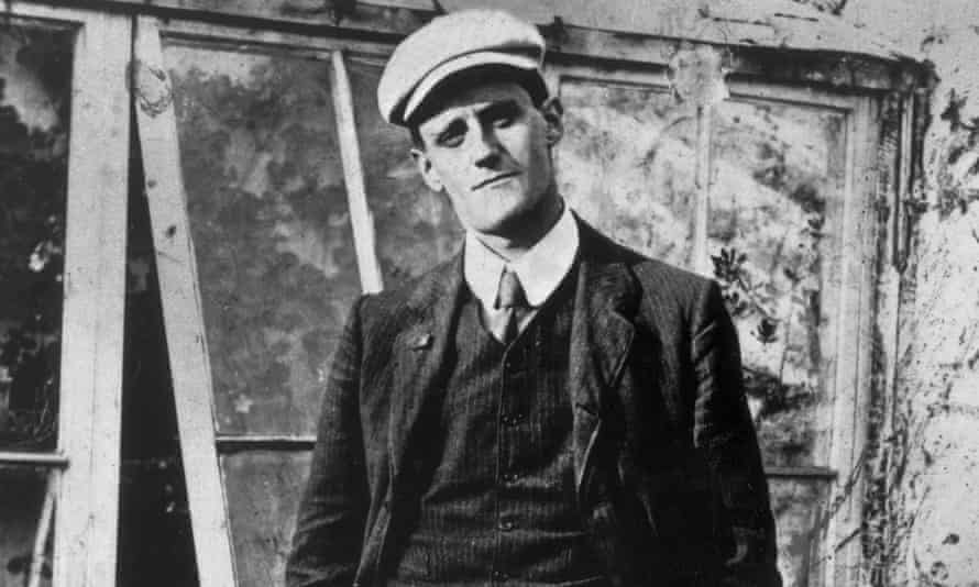 'Big fat fellows, long windy ones, quick little merry cracks' … James Joyce in 1904.