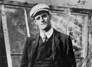 Murder in mind … James Joyce in 1904, the year in which Ulysses is set.